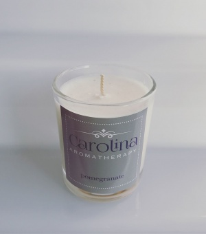 Carolina Aromatherapy Pomegranate Candle