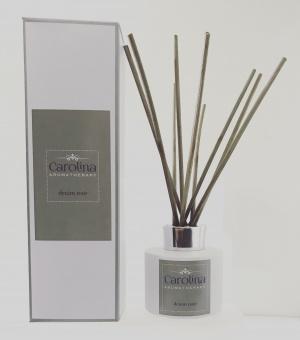 denim noir reed diffuser carolina aromatherapy
