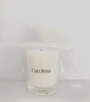 Mini Tuscan Lemon candle Carolina Aromatherapy
