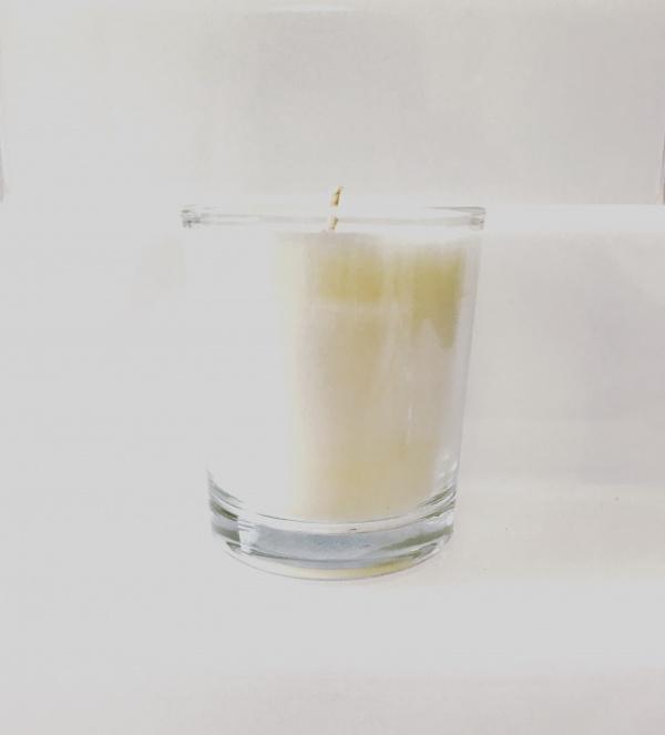 denim noir small candle carolina aromatherapy