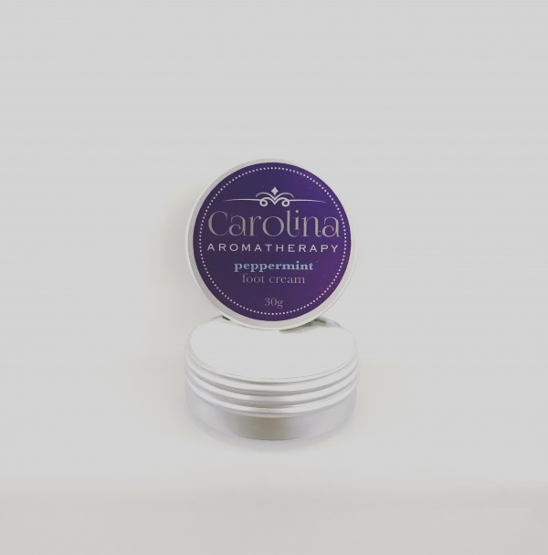 carolina aromatherapy Peppermint foot cream