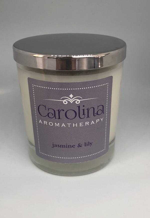 Carolina Aromoatherapy Jasmine & Lily Candle